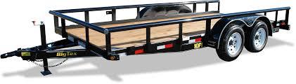 10pi pro series tandem axle pipe top utility big tex trailers