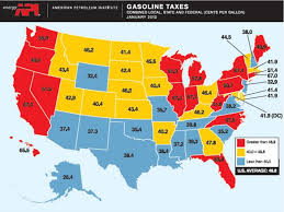 map us gas prices why do gasoline prices differ across u s states econbrowser