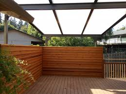 acrylite patio cover with privacy screen deck masters llc