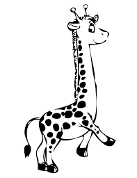 popular giraffe to color 78 788