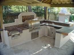 Outdoor Kitchen Countertops by Many Outdoor Kitchen Designs Include Barbecue Islands General
