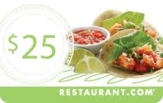 restaurant egift cards shop access values