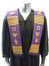 kente graduation stoles psi phi kente graduation stole