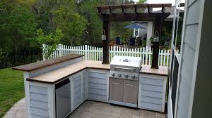 Backyard Grill Ideas How To Build A Diy Outdoor Bar Tos With And Grill 1420715787264 On