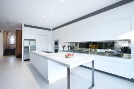 marble kitchen islands white kitchen island marble counter enclave house in melbourne