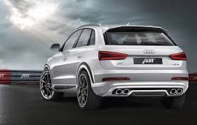 audi q3 modified german tuner abt sportsline brings early to audi q3