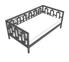 ana white rectangles day bed diy projects