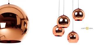 купить светильник loft copper shade designed by tom dixon in 2005