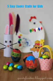 Easter Decorations Dubai by Goodyfoodies Five Easy U0026 Fun Easter Crafts For Kids
