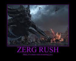 Zerg Rush Meme - starcraft ii heart of the swarm zerg rush by onikage108 on