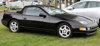 nissan black file nissan 300zx convertible in black front right jpg
