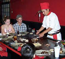 japanese restaurant cook at table list of japanese restaurants wikipedia