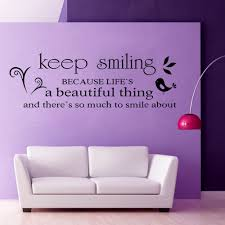 Home Decoration Wall Stickers by Compare Prices On Smile Wall Decal Online Shopping Buy Low Price
