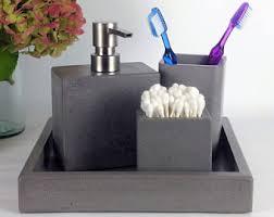 Bathroom Accessories Modern Bathroom Accessories Etsy