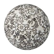 ceramics home decoratives home decor home decor u2013 navah black white ceramic decorative ball