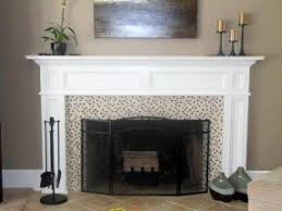 Electric Fireplace With Mantel Electric Fireplace Mantels Surrounds Foter
