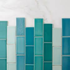 Blue Bathroom Tiles Ideas Colors 94 Best Fireclay Tile Colors Aquas Images On Pinterest Aqua