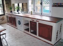 meuble cuisine a poser sur plan de travail pose d un plan de travail cuisine poser lzzy co