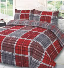 dreamscene premium polycotton duvet cover with pillowcase bedding