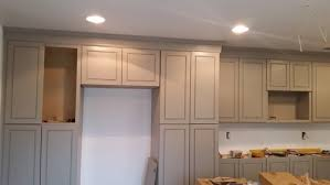 How To Install Kitchen Cabinets Crown Molding by Crown Molding On Kitchen Cabinets