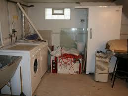Unfinished Basement Bedroom Laundry Room In Unfinished Basement Gqwft Com