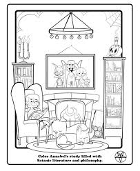 the satanic temple has a cute and cuddly new coloring book