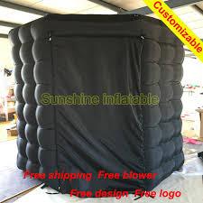 photo booth enclosure portable 2 4m black octagon photo booth enclosure wall