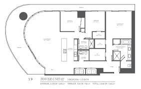 floor plans brickell flatiron