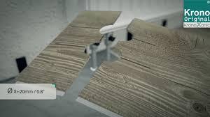 Krono Original Laminate Flooring Kronoxonic Installation Youtube