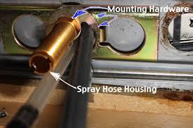 installing a kitchen faucet moen kitchen faucet installation kitchen faucet