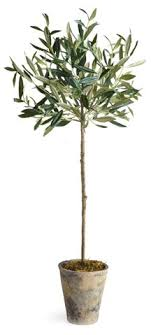 30 olive tree in planter faux napa home brands one