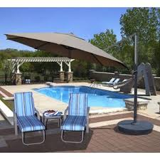 Cantilever Patio Umbrella With Base Cantilever Umbrellas You Ll Wayfair