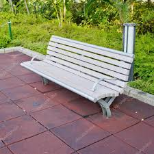 park path bench day background u2014 stock photo art9858 75346961