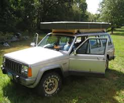 jeep camping trailer rooftop tent 5 steps