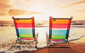 High Beach Chairs Download Colorful Beach Chairs Wallpaper 50277 2560x1600 Px High