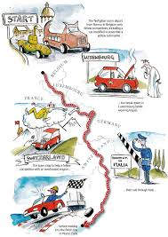 Monte Carlo Map Monte Carlo Or Bust Rally A 950 Mile Rust Bucket Romp Across Europe