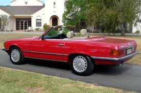 convertible mercedes red sold mercedes benz 380sl convertible auctions lot 18 shannons