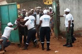 fermeture des bureaux de vote fermeture de bureaux de vote incidents au centre simbaya 1