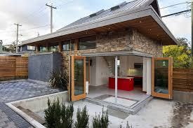 energy efficient small house plans an energy efficient contemporary laneway house by lanefab small