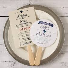 fans for wedding programs wedding program fans wedding program fan favors