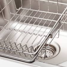 Kitchen Sink Basket Kitchen Sink Accessories With Stainless Steel Frame House