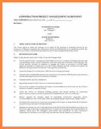 management agreement management agreement 9 construction