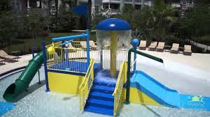 reunion resort splash pad youtube
