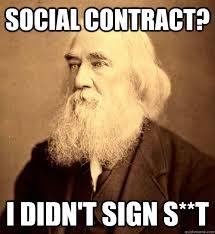 Contract Law Meme - american gov