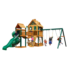 outdoor swing sets lowes wooden playset swings for toddlers