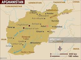 Kabul Map Map Of Afghanistan Stock Illustration Getty Images
