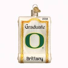 oregon ducks ornaments gifts personalized