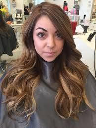 thin hair with ombre thin highlights on brown hair brown hairs