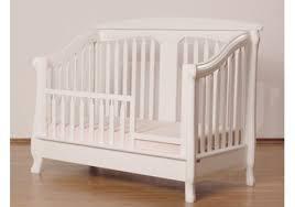 Toddler Bed White Nerva Convertible Crib By Romina Furniture
