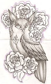 36 best owl half sleeve tattoo sketches images on pinterest half